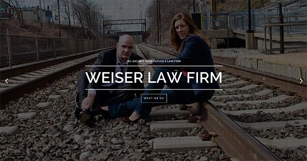Weiser Law Firm Website